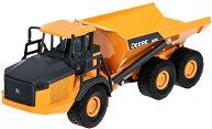 """Самосвал - John Deere 410E - Метална играчка от серията """"Super: Building site & Crane"""" -"""