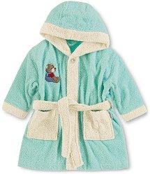 Детски халат за баня - Мечето Bobby -