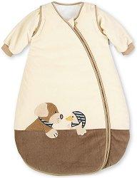 Зимно бебешко спално чувалче - Кученцето Hanno - С дължина 70 или 110 cm -