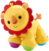 Лъвче - Бебешка играчка - количка
