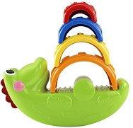 Крокодилче - Играчка за сортиране - творчески комплект