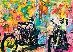 """Ездачи - Колекция """"Bike Art"""" - пъзел"""