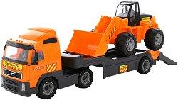 Автовоз с трактор - Детска играчка -