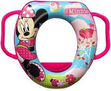 Детска седалка за тоалетна с дръжки - Мини Маус -