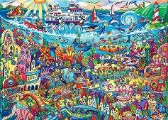 Вълшебното море - Рита Берман (Rita Berman) - пъзел