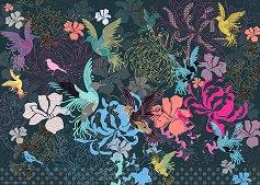 """Птици и цветя - Колекция """"Magic Garden"""" -"""
