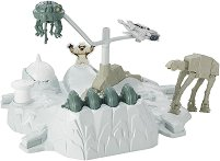 "Starship Hoth Echo Base Battle - Игрален комплект от серията ""Hot Wheels Star Wars: The Force Awakens"" -"