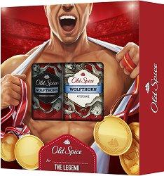 "Old Spice Sportsman Wolfthorn - Подаръчен комплект за мъже от серията ""Wolfthorn"" -"