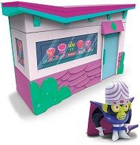 """The Powerpuff Girls - Моджо Джоджо - Комплект за игра от серията """"Реактивните момичета"""" -"""