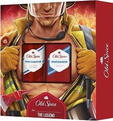 """Old Spice Fireman Whitewater - Подаръчен комплект за мъже от серията """"Whitewater"""" - продукт"""