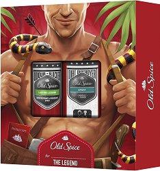 Old Spice Leatherman - Подаръчен комплект за мъже -