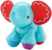 Слонче - Бебешка играчка -