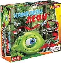 Хамелеон Леон - Детска състезателна игра - играчка