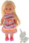 """Еви Лав със зайче - Кукла от серията """"Steffi Love"""" - играчка"""