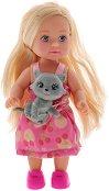 """Еви Лав с котенце - Кукла от серията """"Steffi Love"""" - творчески комплект"""