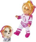 """Ева Лав с кученце - Космонавти - Кукла от серията """"Steffi Love"""" -"""