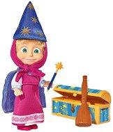 """Маша прави фокуси - Кукла с аксесоари от серията """"Маша и Мечока"""" -"""