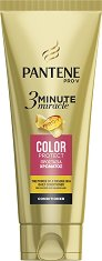 "Pantene 3 Minute Miracle Color Protect Conditioner - Балсам за боядисана и увредена коса от серията ""3 Minute Miracle"" - масло"