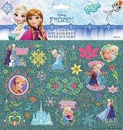 Декорирай със стикери - Замръзналото кралство - Творчески комплект - творчески комплект
