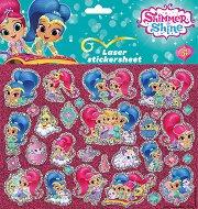 """Декорирай сама със стикери - Shimmer and Shine - Творчески комплект от серията """"Искрица и Сияйница"""" - играчка"""