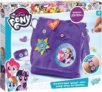 """Създай сама - Декорация за чанта и гривна - Творчески комплект от серията """"Малкото пони"""" -"""