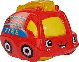 Дрънкалка - Пожарна - Детска играчка за бебета над 12 месеца -