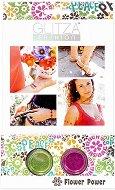 Бои с брокатен ефект за тяло - Силата на цветята