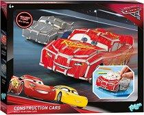 """Създай сам картонен модел - МакКуин Светкавицата и Джаксън Сторм - Творчески комплект от серията """"Колите"""" - творчески комплект"""