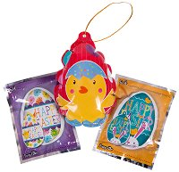 """Балони пуканки - Великден - Комплект от 3 броя от серията """"Wack-A-Pack"""" - играчка"""