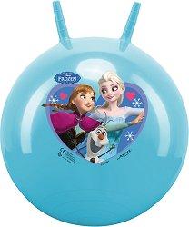 """Топка за скачане - Елза, Анна и Олаф - Детска играчка от серията """"Замръзналото кралство"""" -"""