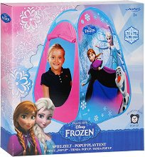 """Детска палатка - Елза, Анна и Олаф - Аксесоар от серията """"Замръзналото кралство"""" - играчка"""