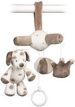 Музикална играчка - Кученцето Max - Играчка за бебешка количка -