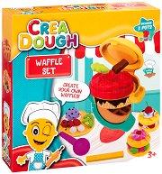 """Направи сам - Гофрети - Творчески комплект с моделин от серията """"Crea Dough"""" - играчка"""