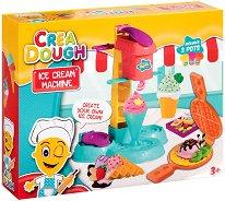 """Направи сам - Сладолед - Творчески комплект с моделин от серията """"Crea Dough"""" - кукла"""