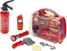 Стани пожарникар - Детски комплект с аксесоари в куфар -
