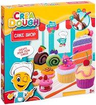 """Направи сам - Сладкиши - Творчески комплект с моделин от серията """"Crea Dough"""" - играчка"""