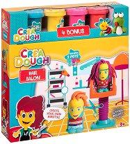 """Направи сам - Прически - Творчески комплект с моделин от серията """"Crea Dough"""" - творчески комплект"""