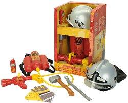 """Пожарникар - Детски игрален комплект от серията """"Fire Fighter Henry"""" -"""
