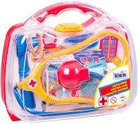 Детско лекарско куфарче - Комплект с 6 аксесоара -