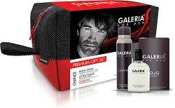 Galeria for Men Number 1 - Подаръчен комплект за мъже с афтършейв и парфюм-дезодорант - фон дьо тен