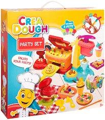 """Направи сам - Парти - Творчески комплект с моделин от серията """"Crea Dough"""" -"""