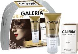 Galeria for Women Number 1 - Подаръчен комплект за жени с парфюм и душ гел - продукт