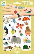 Временни татуировки - Забавни животни