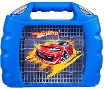 """Куфарче за съхранение на метални колички - От серията """"Hot Wheels"""" - играчка"""