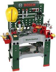 """Детска работилница с инструменти - Work-Station - Играчка от серията """"Bosch-mini"""" - играчка"""