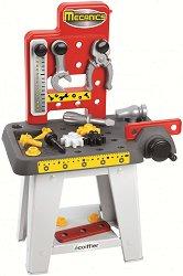 Детска работилница - Mecanics - Комплект с инструменти -