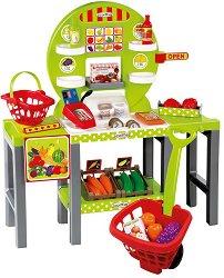 Щанд за хранителни продукти - Детски комплект за игра -