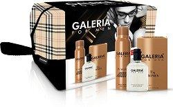 Galeria for Men In Money - Подаръчен комплект за мъже с афтършейв и парфюм-дезодорант -