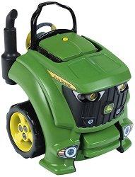 Детски автосервиз-трактор - John Deere - играчка