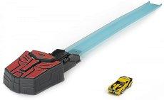 """Изстрелвачка с кола - Бъмбълби - Детска играчка от серията """"Трансформърс"""" -"""